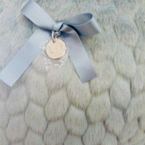 Cuscino Cuore Liu Jo ecopelliccia grigio Prestige di Maria Galantino