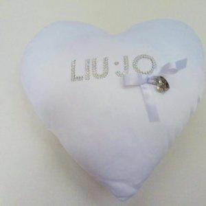 Cuscino da arredo Liu Jo Cuore Bianco 7c4944f59d8
